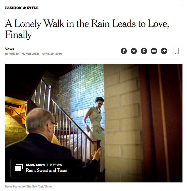 New York Times—Vows