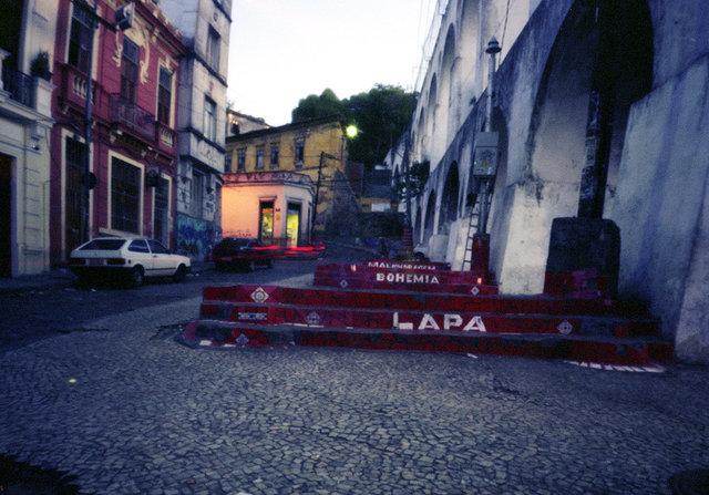 Lapa, area in Rio de Janeiro.