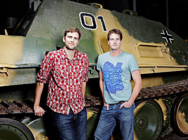 Humphrey Kerr & Dan Snow, Imperial War Museum