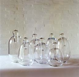 Seven Vases with Stopper