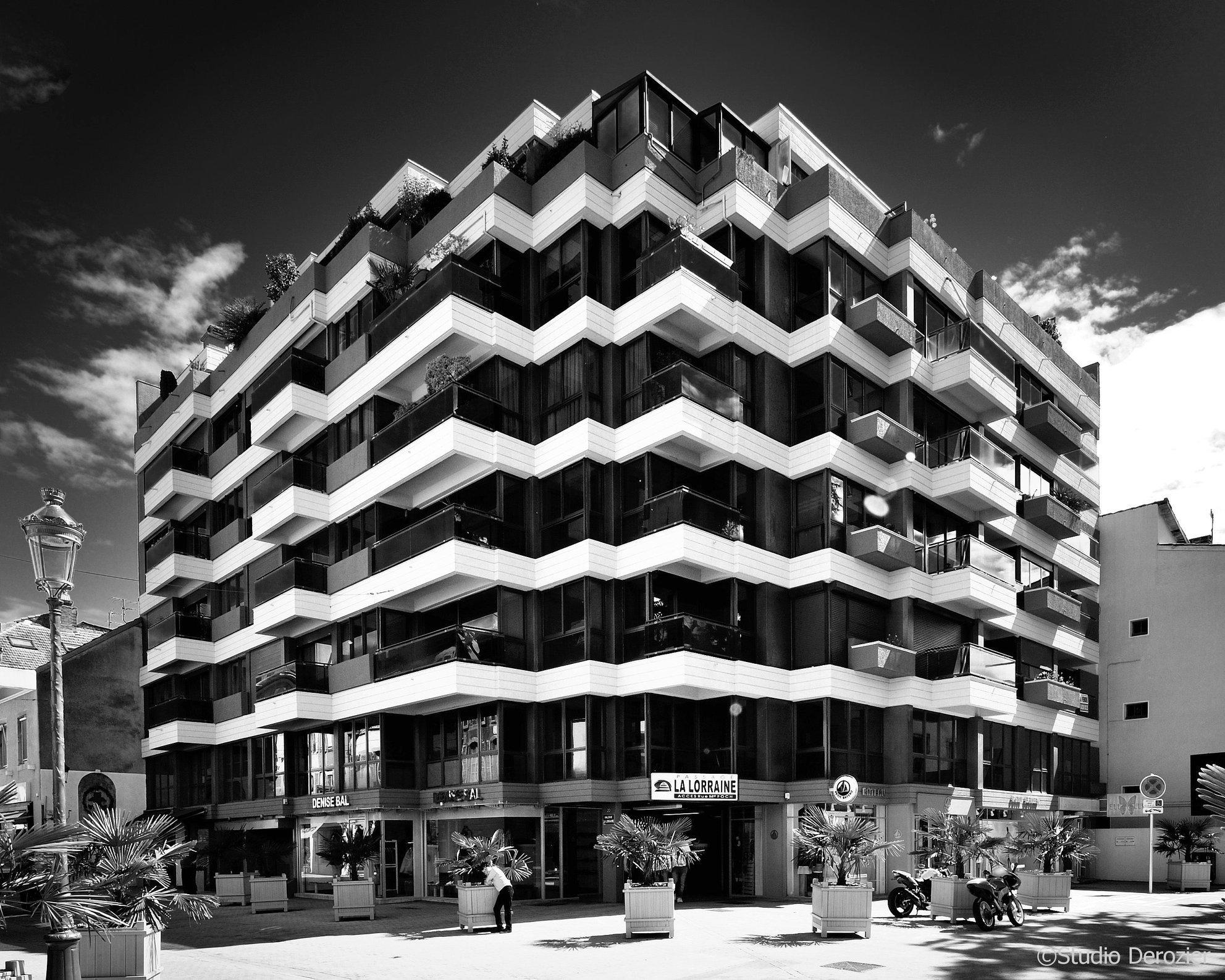 Architecture - La perspective - les lignes fuyantes - Graphisme