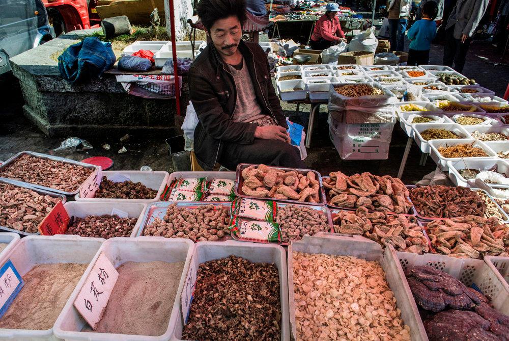 Sanyueejie Market (March Street Fair), Dali, Yunnan.