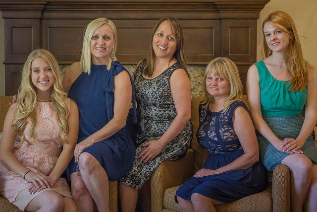 Kayla, Valerie, Heidee, Lorrie, Brittany
