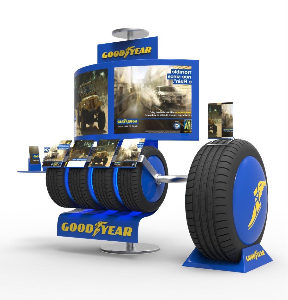 Goodyear - Display unit - 2015