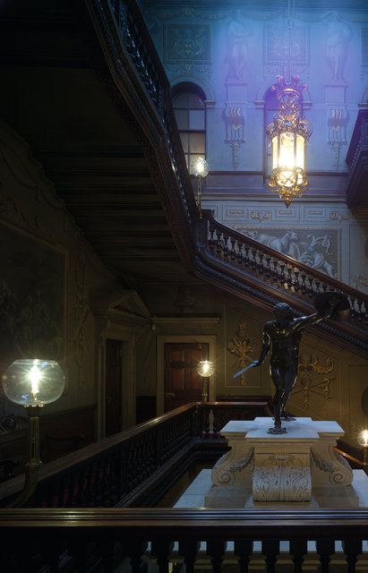 Houghton Hall Staircase - Before Part 1