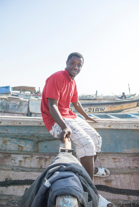 Oumar, 25, Guinea Bissau.