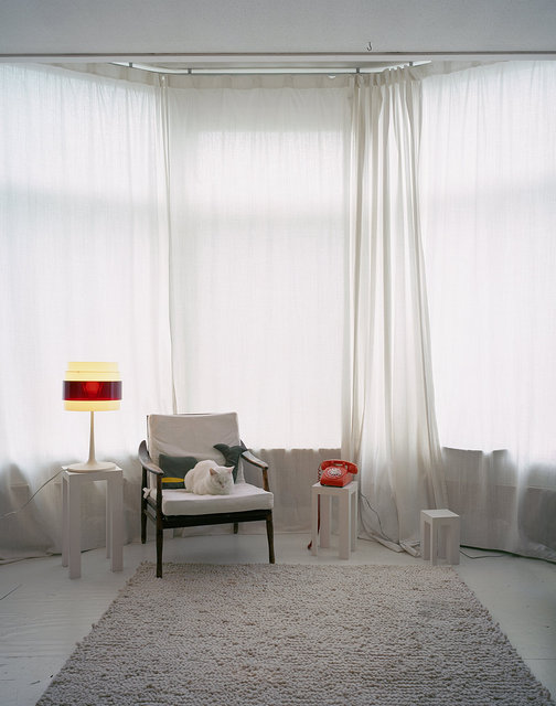 Untitled Interior (B in white room), 2011