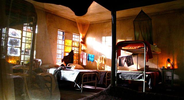 U.N. Transit camp - children's dormitory