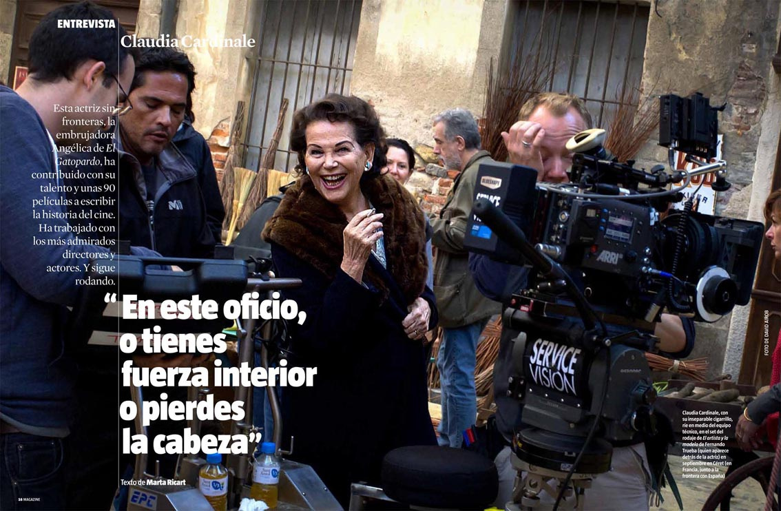 Claudia Cardinale.