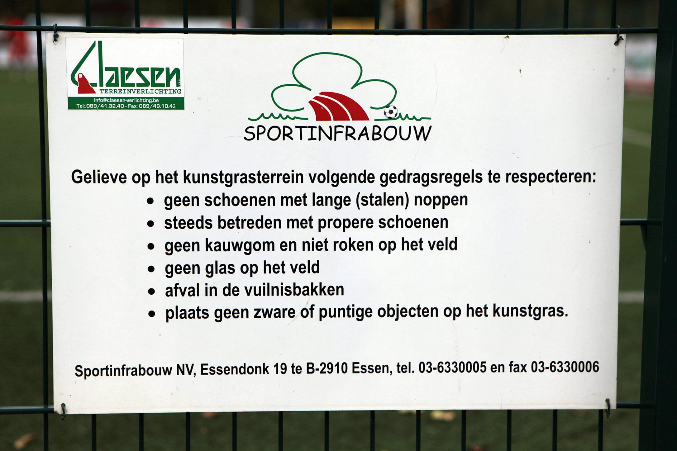 KSV Nieuwpoort - Sportpark De Lenspolder