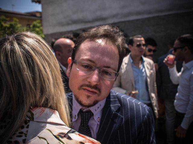 15.Enrico Maria Natale, candidato a sindaco e avversario di Renato Natale al ballottaggio.