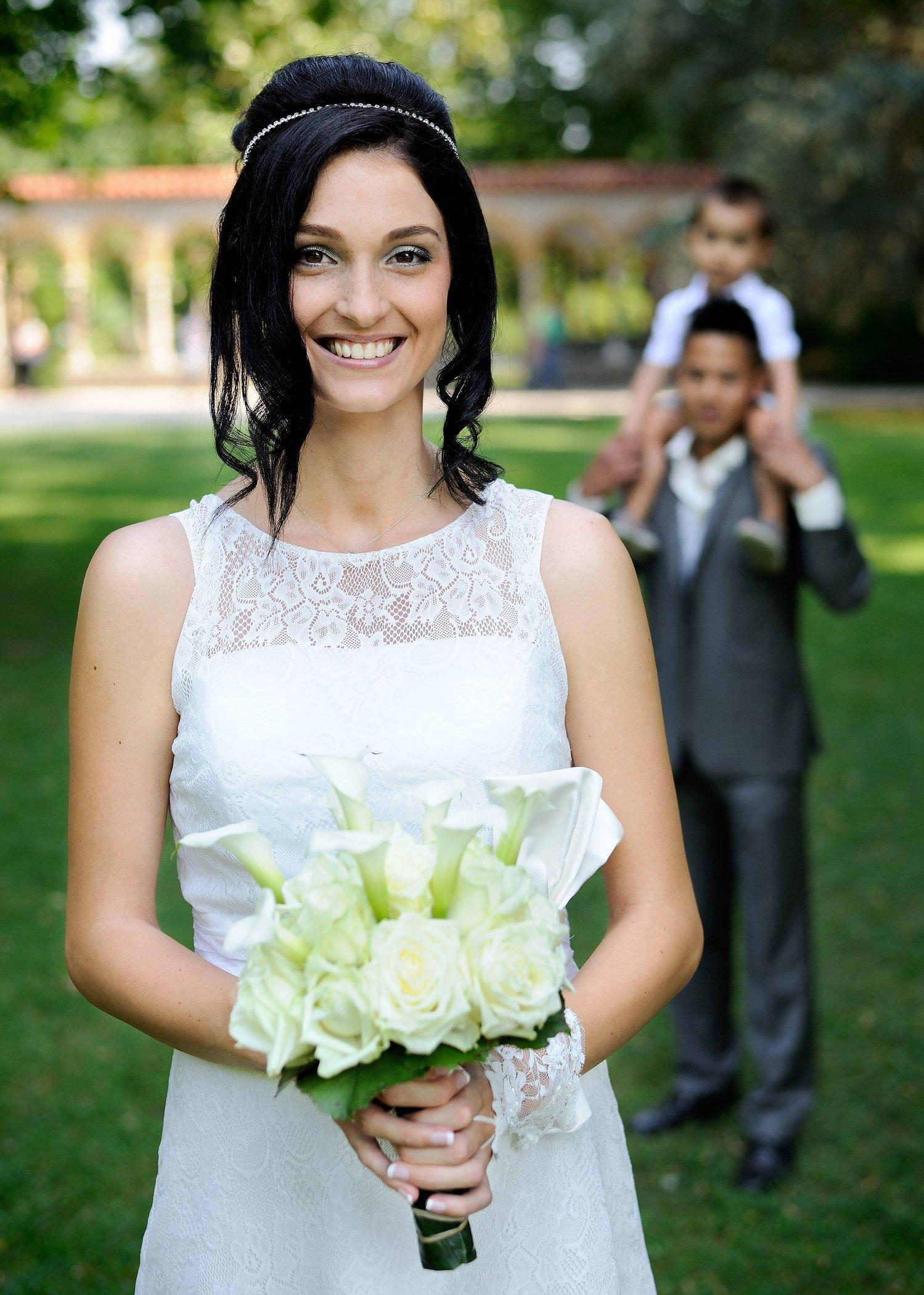 Photo de couple de mariés, Tarbes