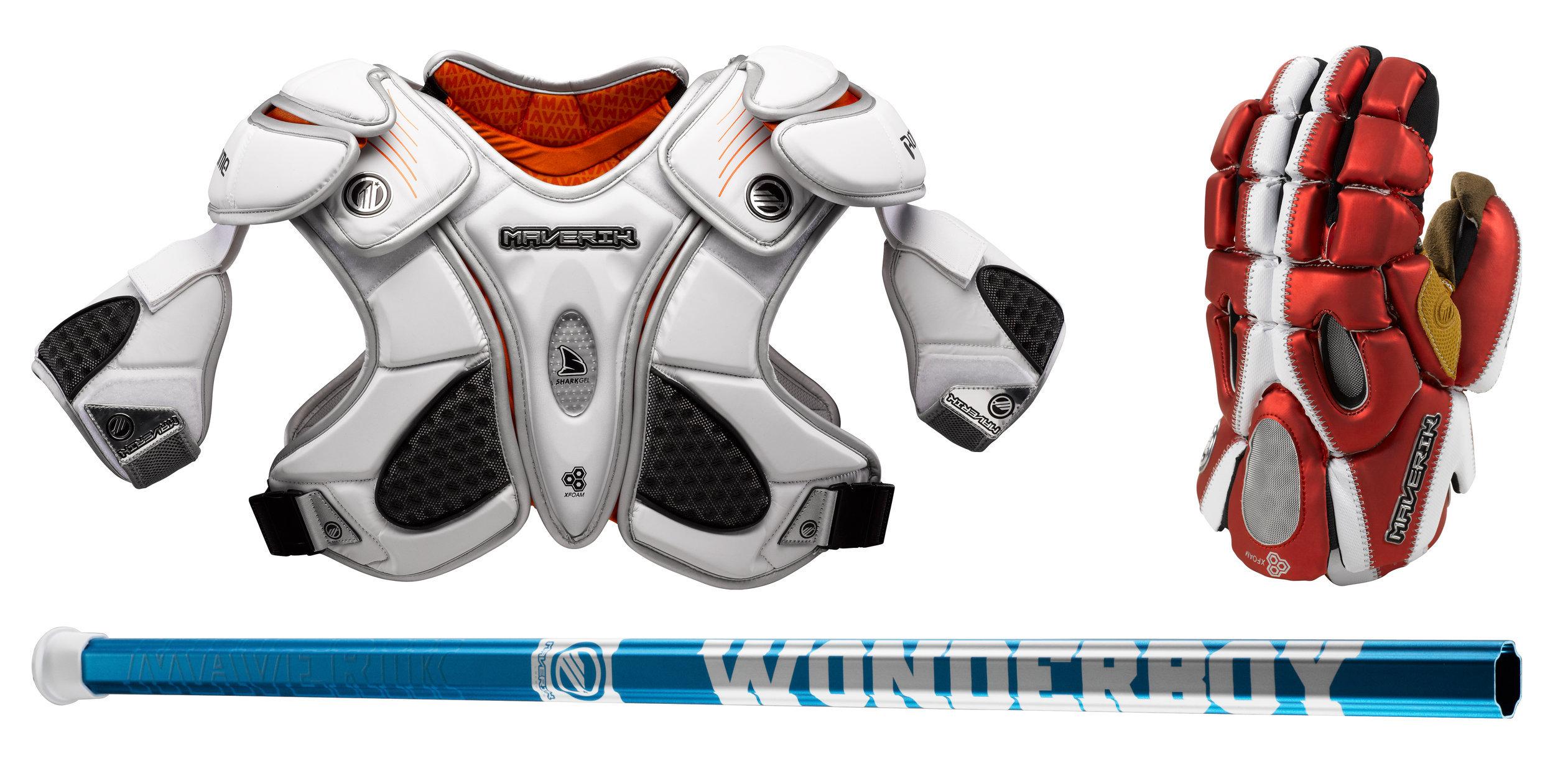 Maverik Lacrosse product photography