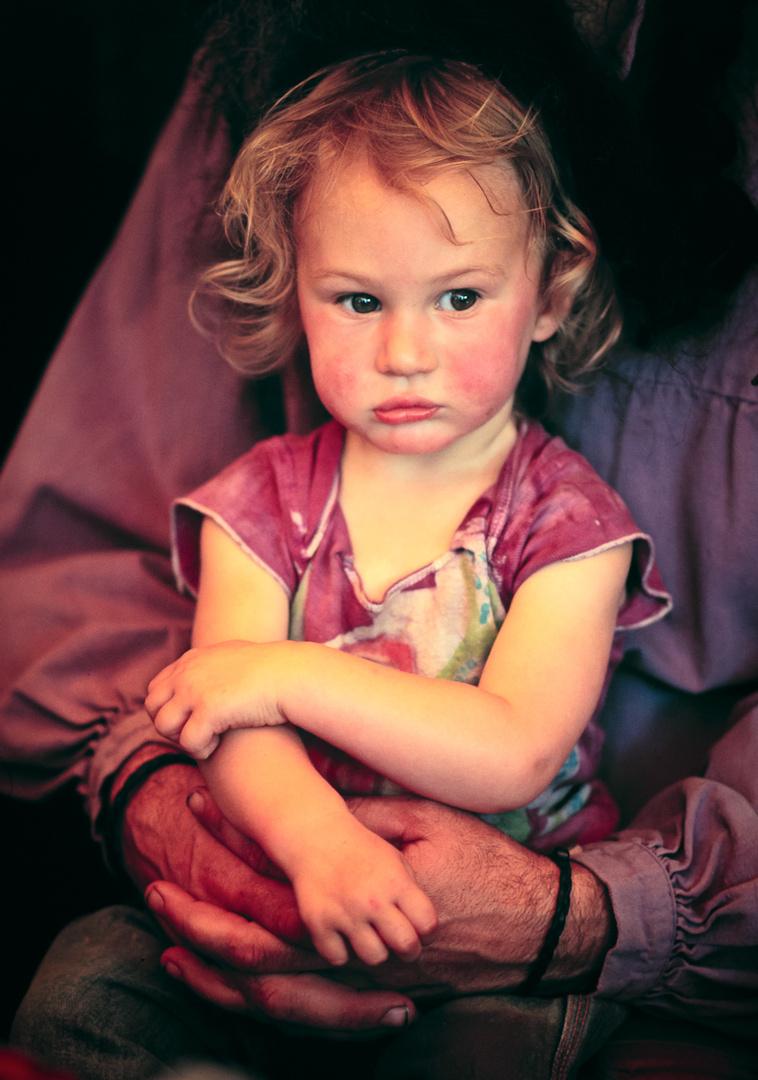 Girl under tent 1980.jpg