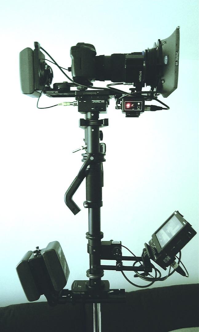Sachtler Artemis EFP pro HD mit Canon 5D Rig