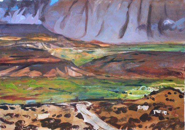 """Rio Grande Valley     21 x 29"""""""