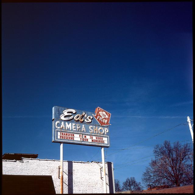 Ed's Camera sign