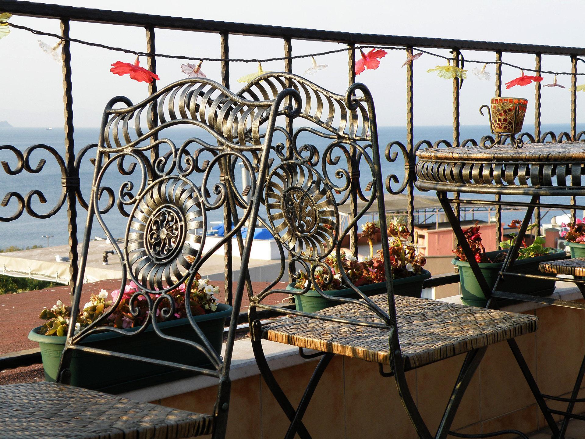 Overlooking the Marmara