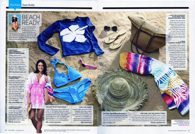 Beach Ready/ M&F HERS Magazine