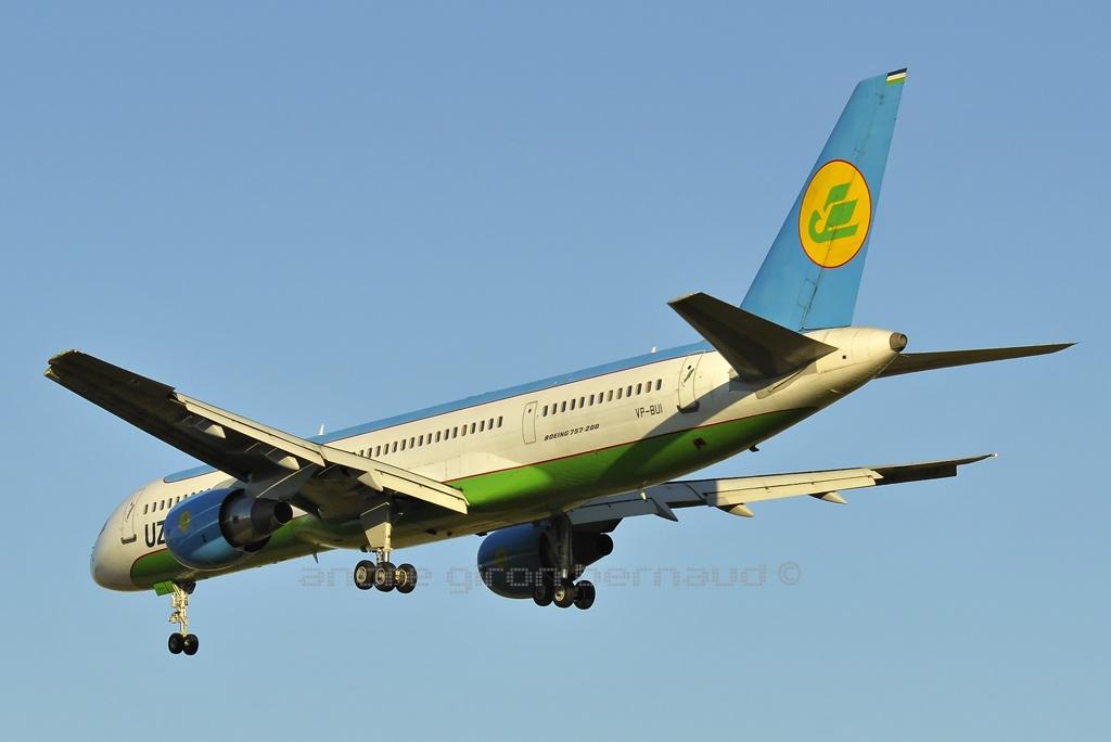 Boeing 757-231 Uzbekistan Airways VP-BUI