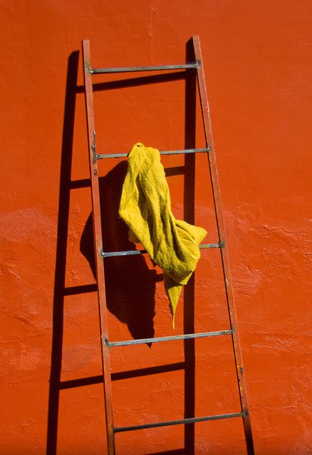 Rag on Ladder