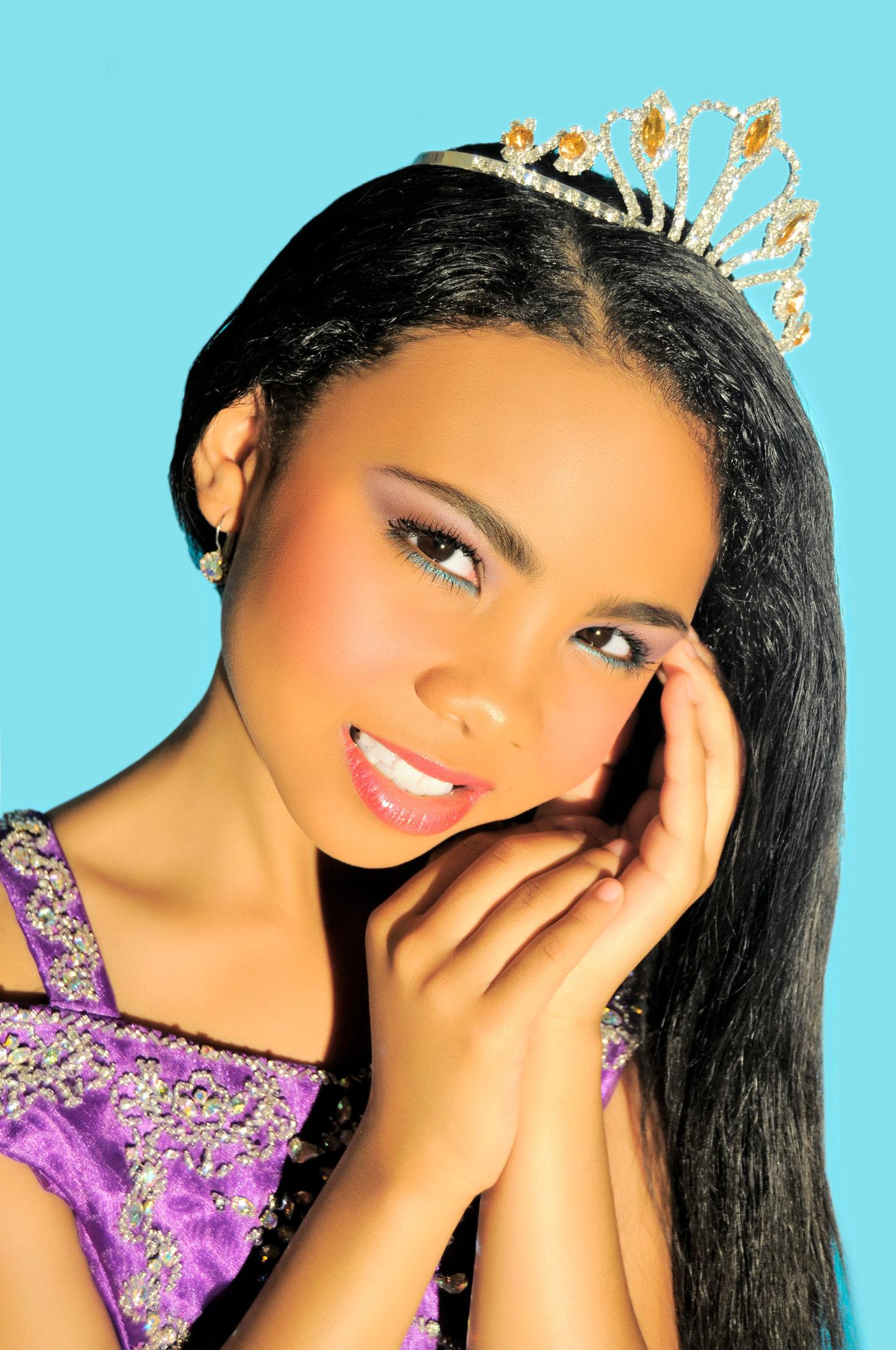 ASHAH- Child  Prima ballerina and Gymnist.