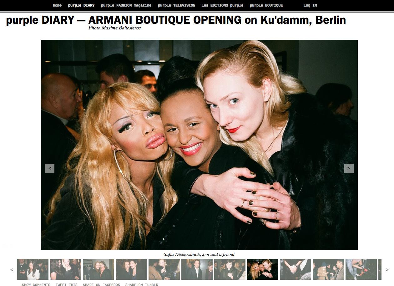 purple DIARY   ARMANI BOUTIQUE OPENING on Ku damm  Berlin.png