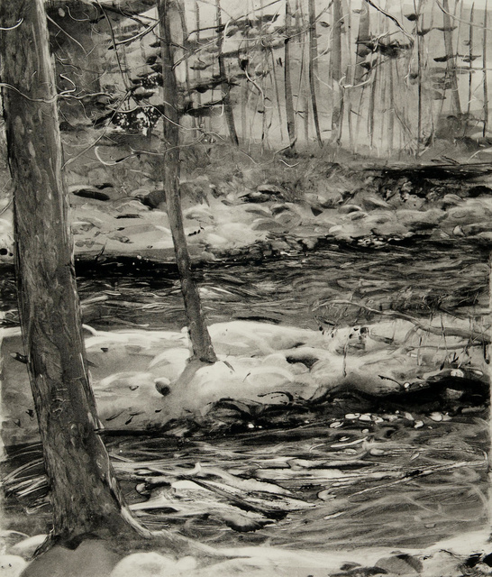 Six-Mile Creek, 28 x 23""