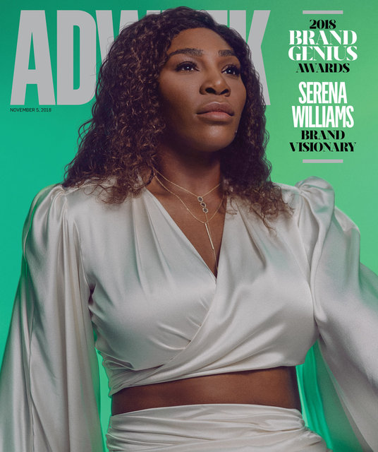 Adweek Cover Nov. 2018 Featuring Serena Williams Shot by Micaiah Carter