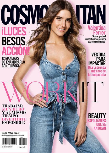 Cosmopolitan Magazine August 2017
