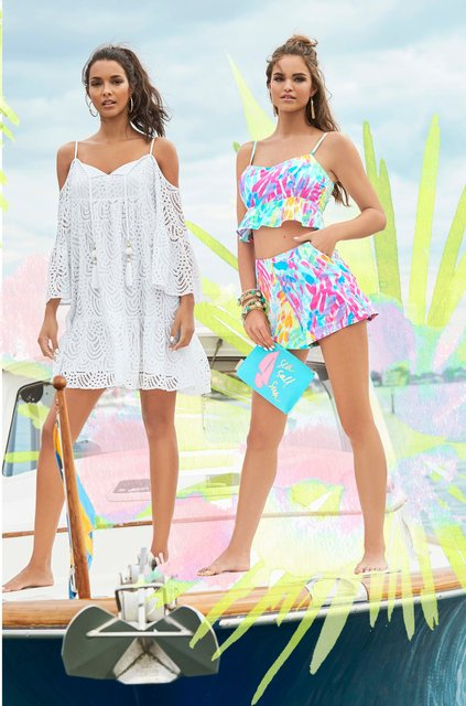 Lilly Pulitzer Summer 2017 Shot by Ben Watts