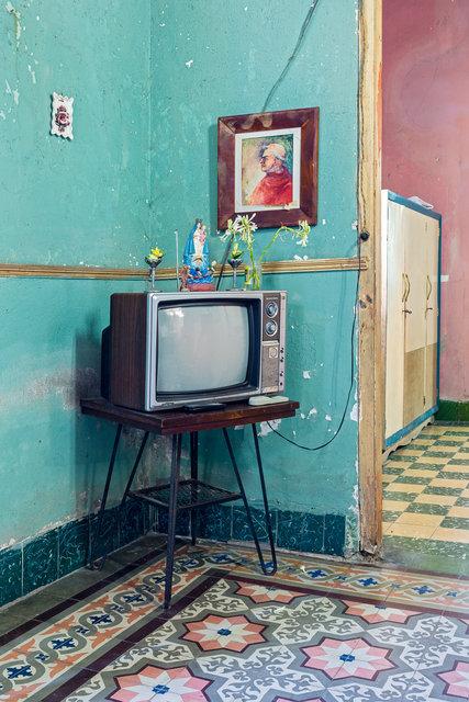 Wohnzimmer Cienfuegos - Kuba