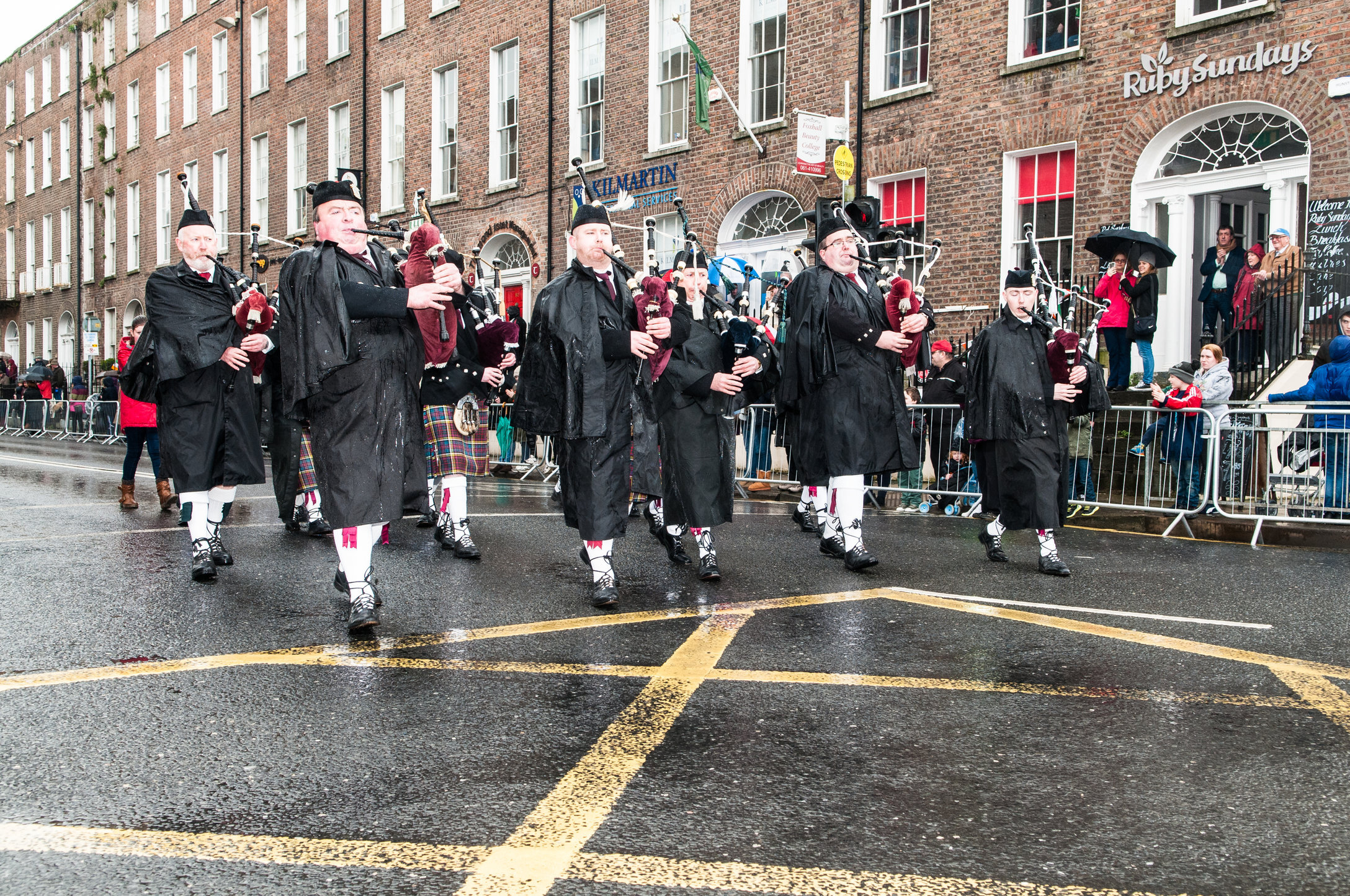 Bagpipes, City of Limerick Pipe Band