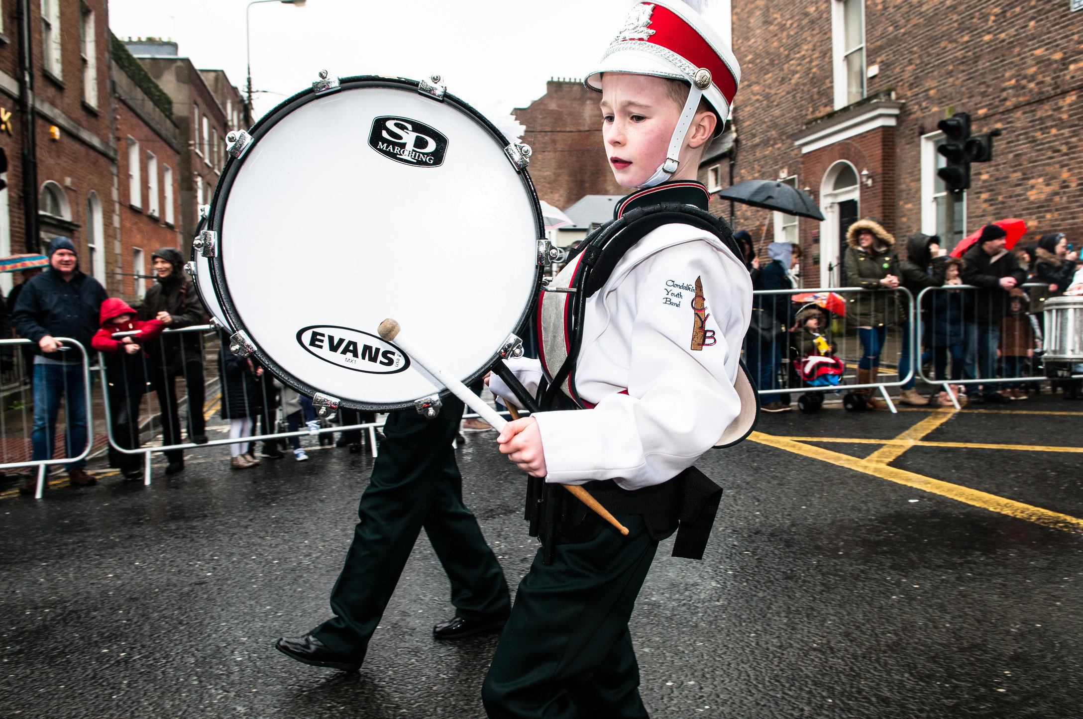 Drummer, Clondalkin Youth Band