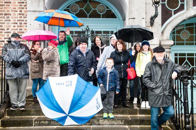 Spectators, Limerick Marching Bands