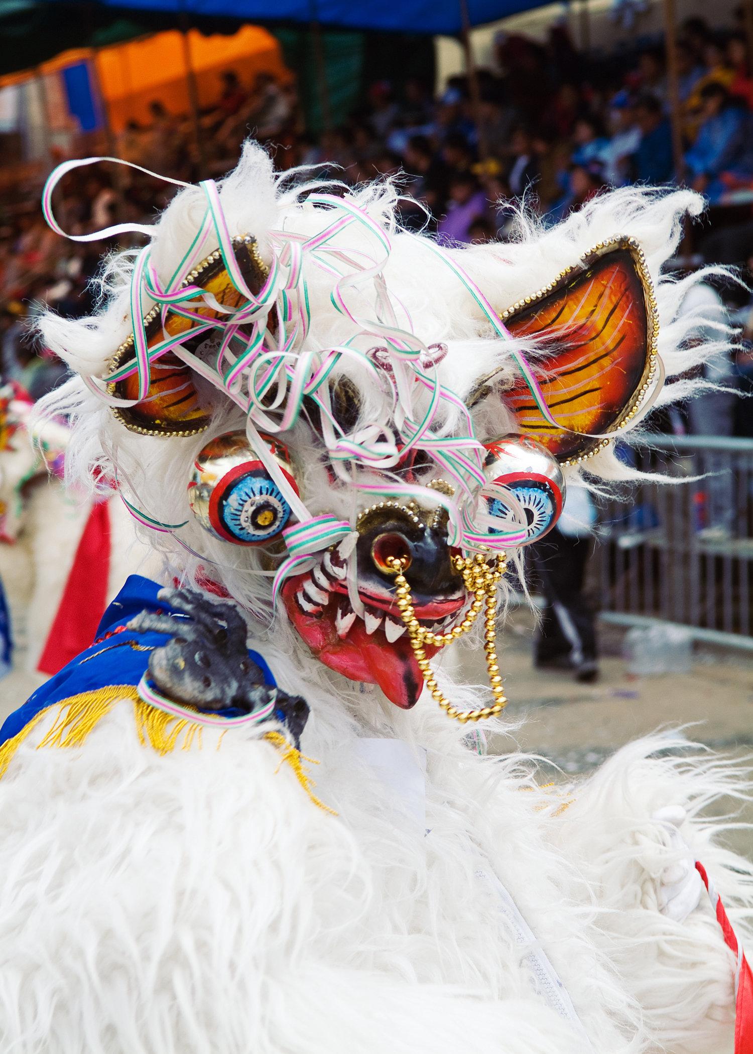Carnival Masks Bolivia