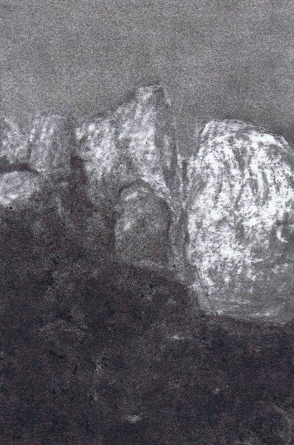 Mégalithe au clair de lune III