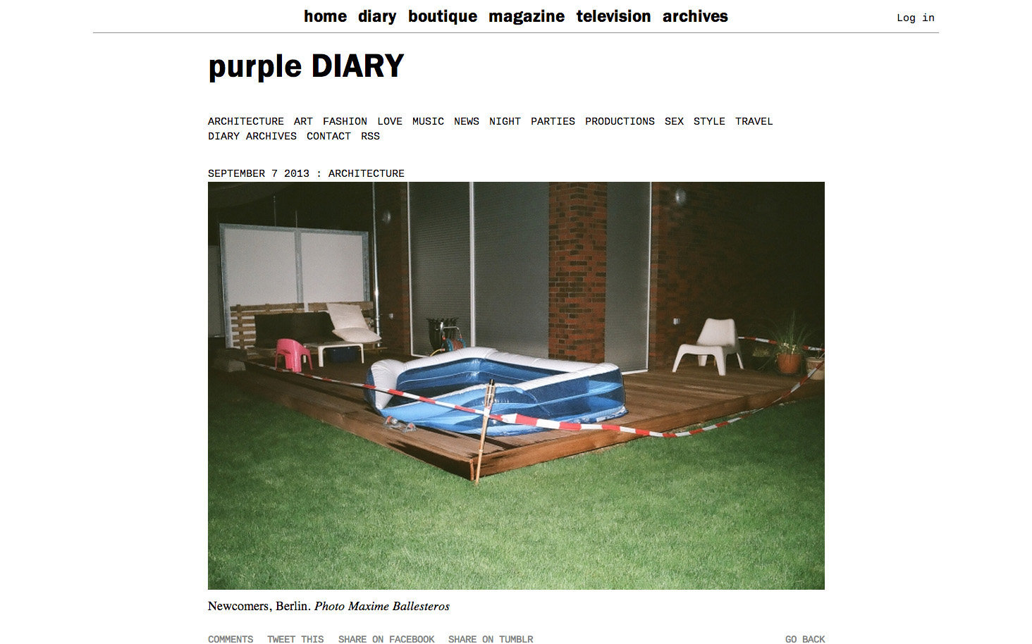 purple DIARY   Newcomers  Berlin. Photo Maxime.jpg
