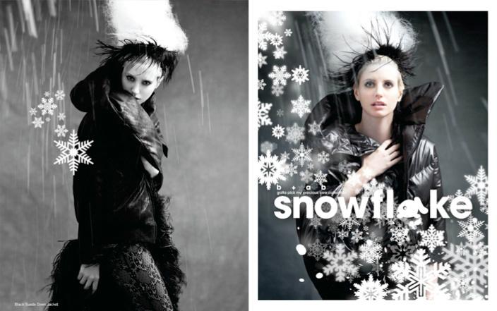b+ab SNOWFLAKE collection 2011