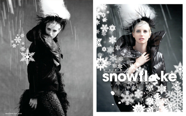 b+ab SNOWFLAKE collection 2011