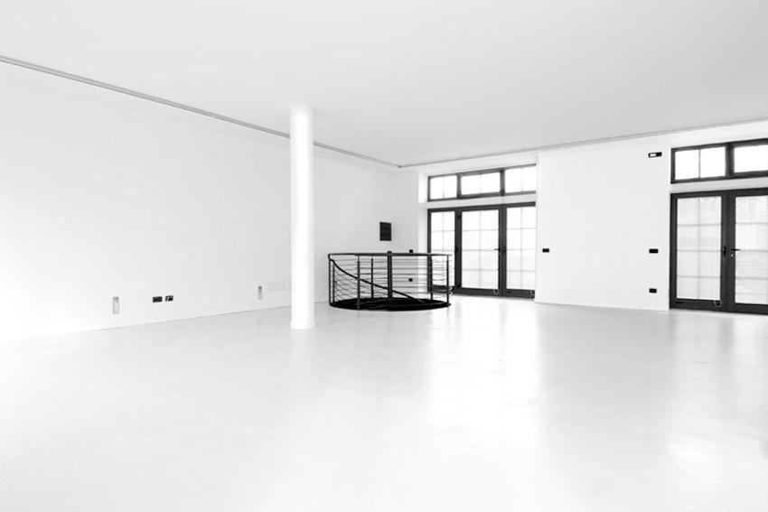 finestre giardino e scala ingresso Studio