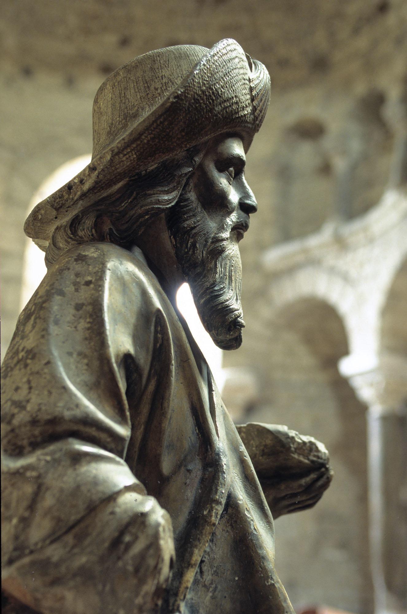 Statue de Saint-Jacques, cathédrale du Puy-en-Velay