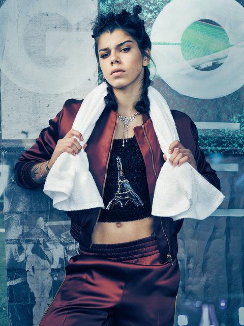 Nadya Karpova for Tatler Russia
