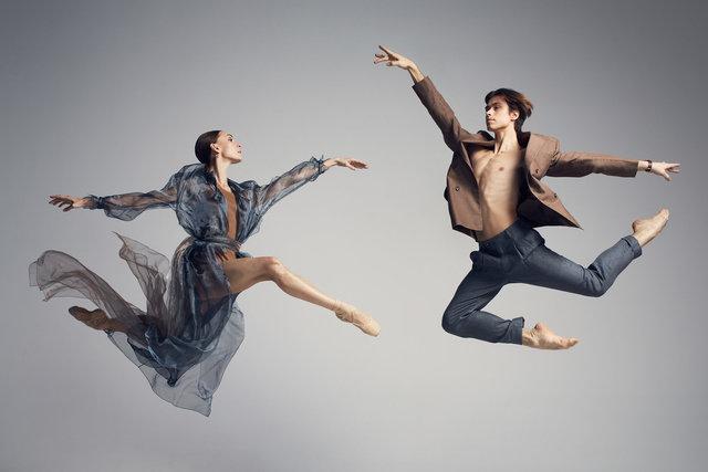 Olga Smirnova & Artem Ovcharenko for Tatler