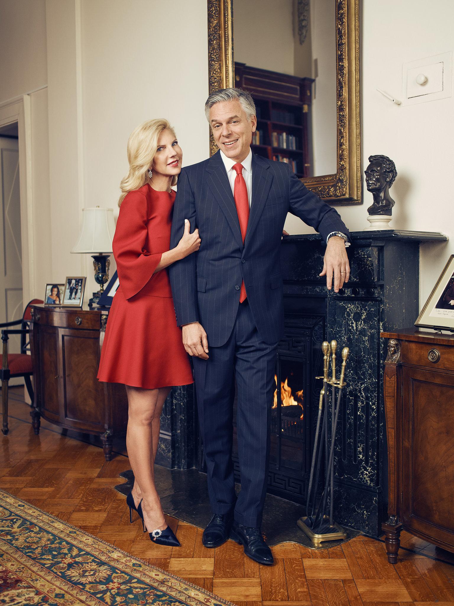 Mrs. Mary Kaye Huntsman & Mr. Jon Huntsman for Tatler Russia
