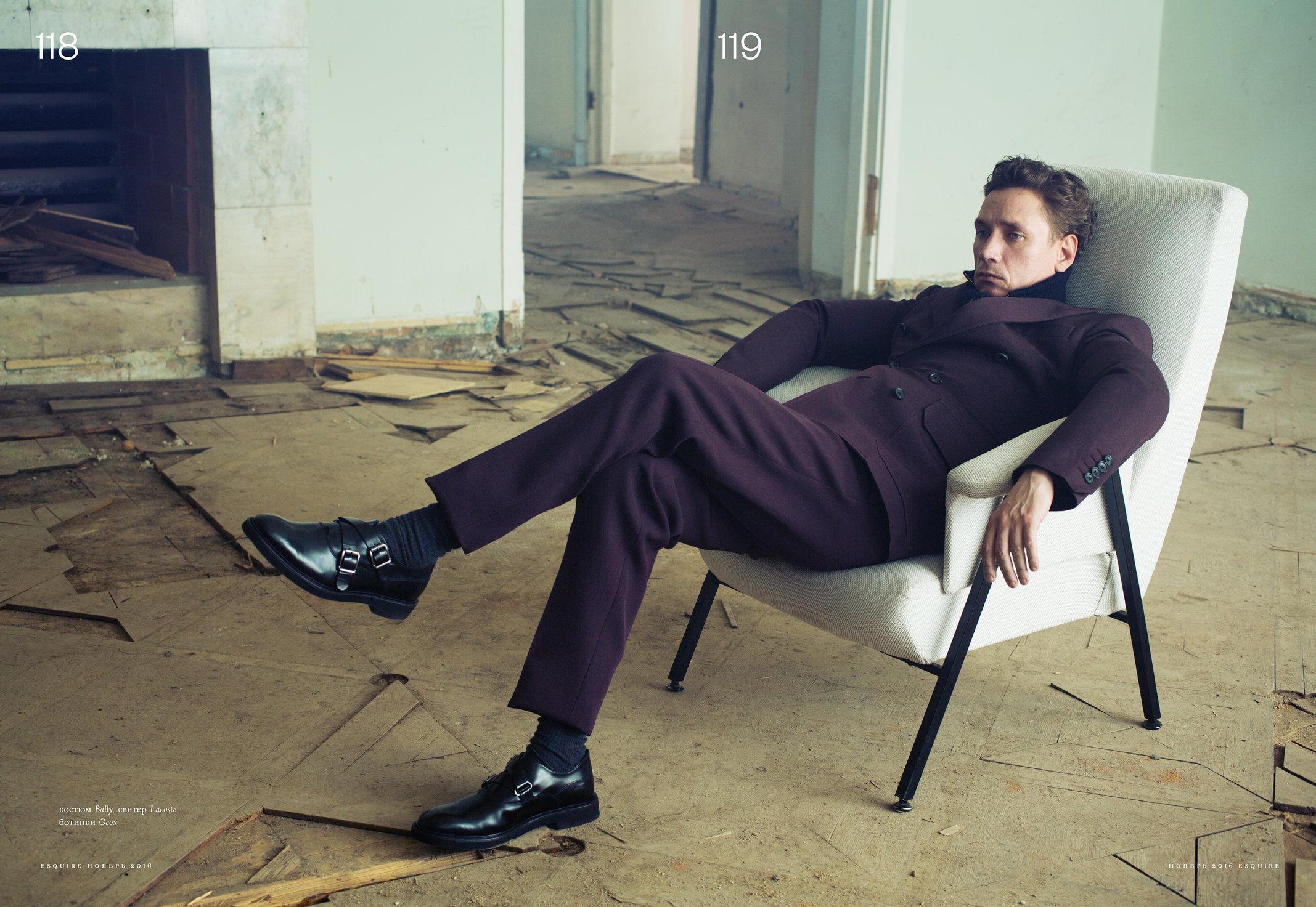 Aleksandr Yatsenko for Esquire Russia 2016