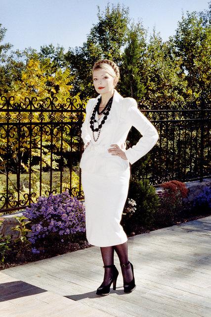 Julia Timoshenko for Harper's Bazaar 2006