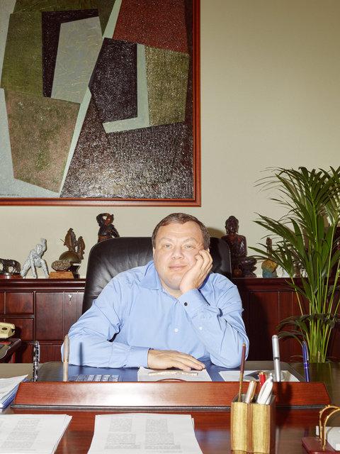 Mikhail Fridman for Tatler Russia