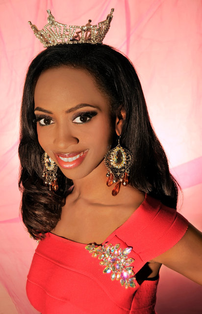 MISS GREATER GREER - LIA HOLMAN, she is a petite size beauty with a  powerhouse of vocal talent.