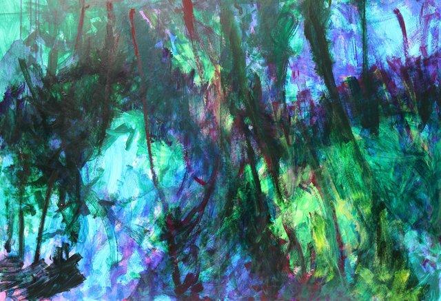 Forêt violette